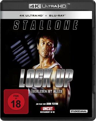 Lock up - Überleben ist alles (1989) (Uncut, 4K Ultra HD + Blu-ray)