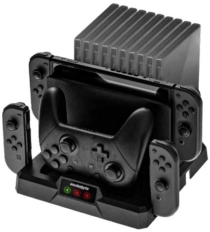 Switch Ladestation Dual Charge:Base S Snakebyte