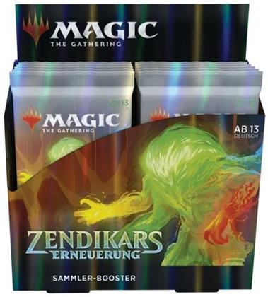 Magic the Gathering: Zendikars Erneuerung Trading Card Game - Collector Booster Display (12 Packs)