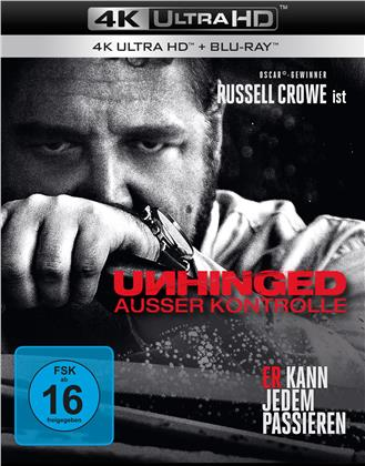 Unhinged - Ausser Kontrolle (2020) (4K Ultra HD + Blu-ray)