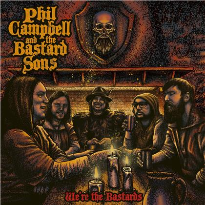 Phil Campbell And The Bastard Sons (Motörhead) - We're the Bastards (Digipack, 4 Bonustracks)