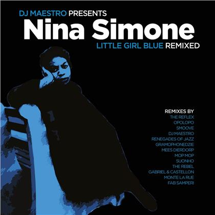 Nina Simone & DJ Maestro - Little Girl Blue Remixed (2020 Reissue, Music On Vinyl, Limited Edition, Colored, 2 LPs)