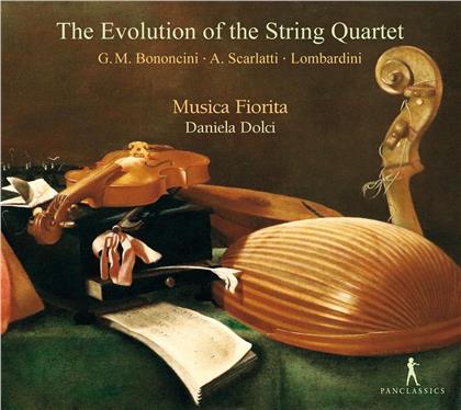 Musica Fiorita, Giovanni Maria Bononcini (1670-1747), Alessandro Scarlatti (1660-1725), Maddalena Laura Lombardini Sirmen (1735-1799) & Daniela Dolci - Evolution Of The String Quarte