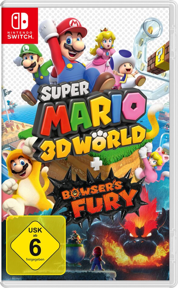 Super Mario 3D World + Bowsers Fury (German Edition)
