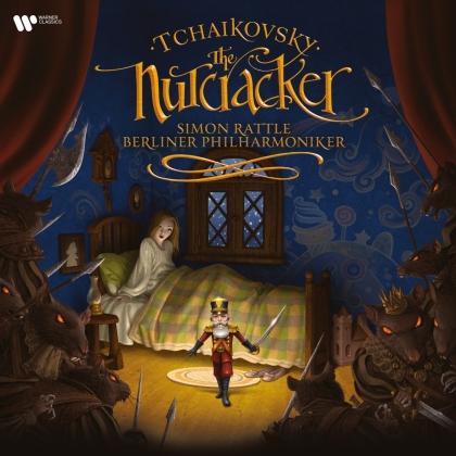 Peter Iljitsch Tschaikowsky (1840-1893), Sir Simon Rattle & Berliner Philharmoniker - Nussknacker - Nutcracker (2 LPs)