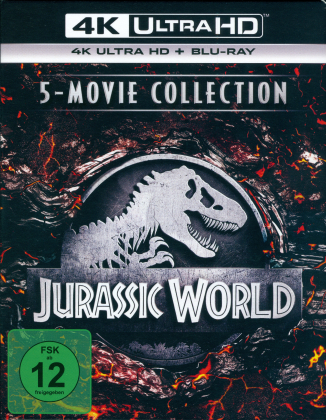 Jurassic World - 5-Movie Collection (5 4K Ultra HDs + 5 Blu-rays)