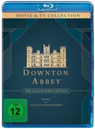 Downton Abbey - Die komplette Serie + Der Film (Collector's Edition, 21 Blu-rays)