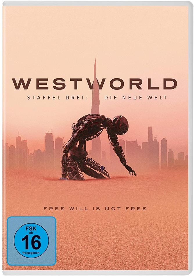 Westworld - Staffel 3 - Die neue Welt (3 DVDs)