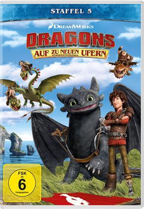 Dragons - Auf zu neuen Ufern - Staffel 5 (4 DVDs)