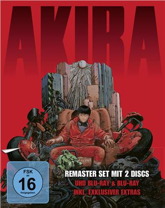 Akira (1988) (Limited Edition, Remastered, 4K Ultra HD + Blu-ray)