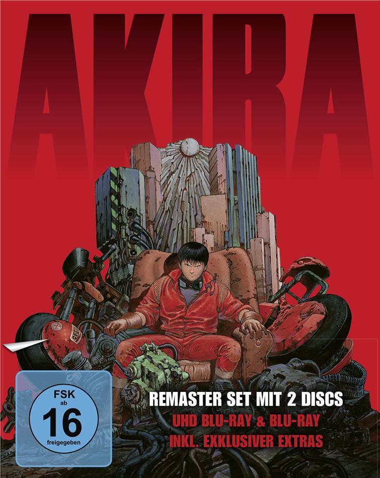 Akira (1988) (Limited Edition, Remastered, 4K Ultra HD + Blu-ray)
