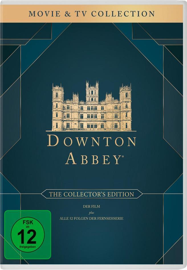 Downton Abbey - Die komplette Serie + Der Film (Collector's Edition, 27 DVDs)