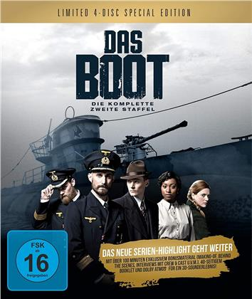 Das Boot - Staffel 2 (Limited Edition, Special Edition, 4 Blu-rays)