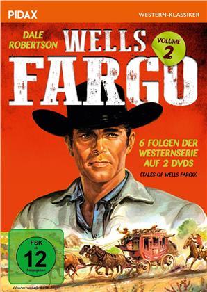 Wells Fargo - Vol. 2 - 6 Folgen der Westernserie (Pidax Western-Klassiker, 2 DVDs)