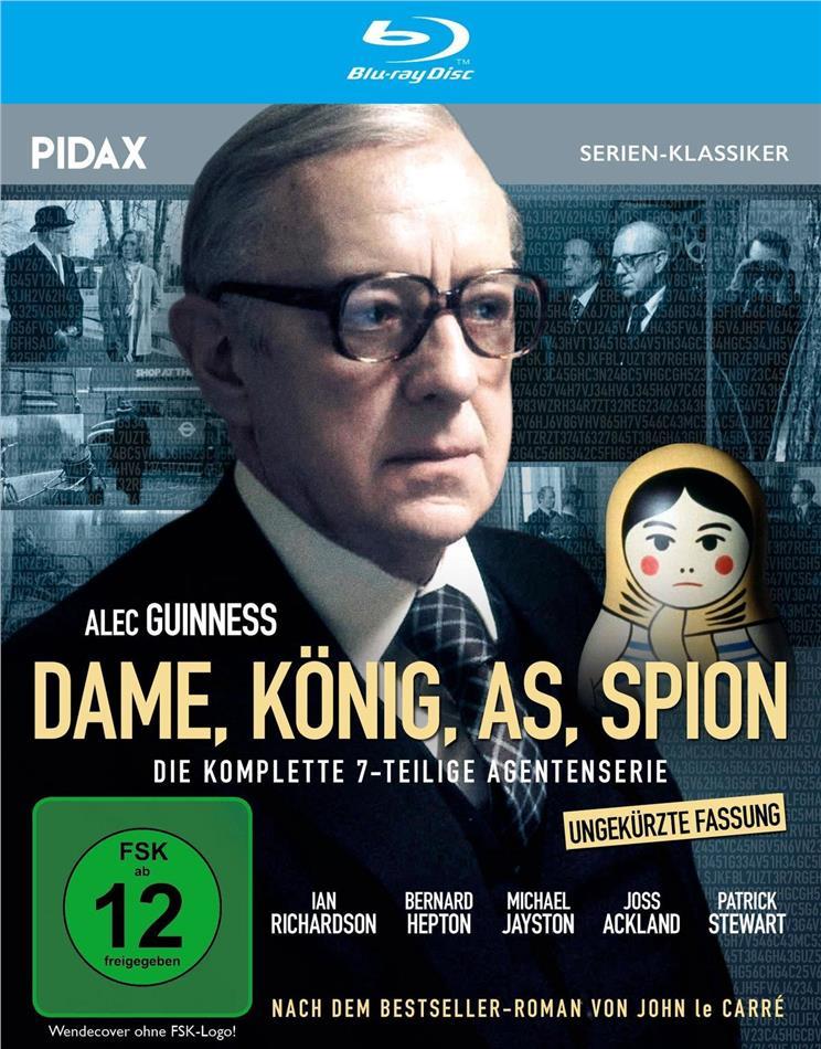 Dame, König, As, Spion - Die komplette 7-teilige Agentenserie (1979) (Ungekürzte Fassung, Pidax Serien-Klassiker)