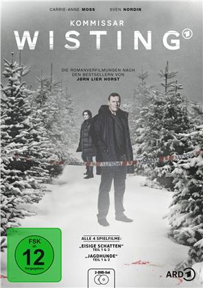 Kommissar Wisting - Eisige Schatten - Teil 1 & 2 / Jagdhunde - Teil 1 & 2 (2 DVDs)