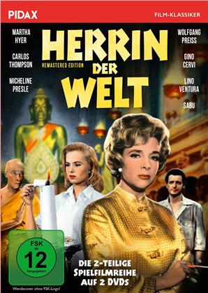 Herrin der Welt - Die 2-teilige Spielfilmreihe (1960) (Pidax Film-Klassiker, 2 DVDs)