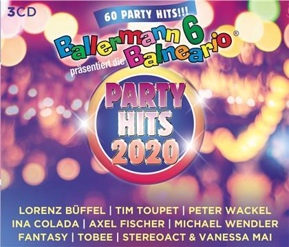Ballermann 6 Balneario präs.: Die Party Hits 2020 (3 CDs)