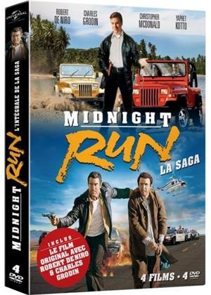 Midnight Run - La Saga - Midnight Run / La cavale infernale / Une mission d'enfer / L'amour poursuite (4 DVDs)