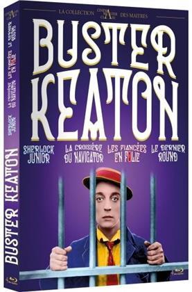 Buster Keaton - Sherlock Junior / La Croisière du Navigator / Les fiancées en folie / Le dernier round (4 Blu-rays)