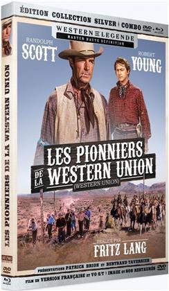 Les pionniers de la Western Union (1941) (Silver Collection, Western de Légende, Blu-ray + DVD)