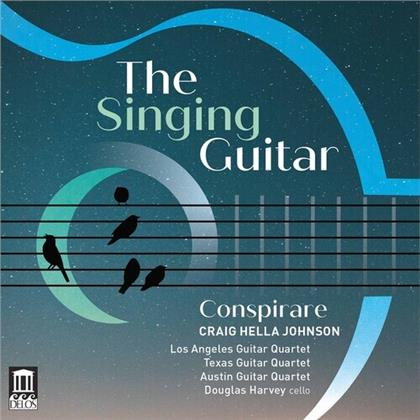 Douglas Harvey, Craig Hella Johnson, Los Angeles Guitar Quartet, Texas Guitar Quartet & Austin Guitar Quartet - The Singing Guitar