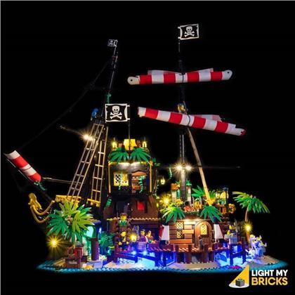 Light My Bricks - LED Licht Set für LEGO® 21322 Piraten der Barracuda Bucht