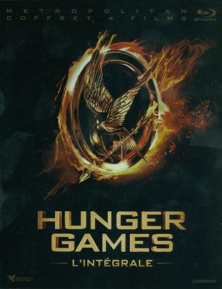 Hunger Games - L'intégrale (Neuauflage, 4 Blu-rays)