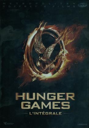 Hunger Games - L'intégrale (Neuauflage, 4 DVDs)