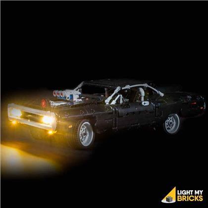 Light My Bricks - LED Licht Set für LEGO® 42111 Dom's Dodge Charger