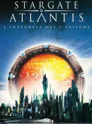 Stargate Atlantis - L'intégrale des 5 saisons (25 DVDs)