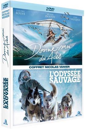 Donne-moi des Ailes (2019) / L'odyssée sauvage (2013) - Coffret Nicolas Vanier (2 DVDs)