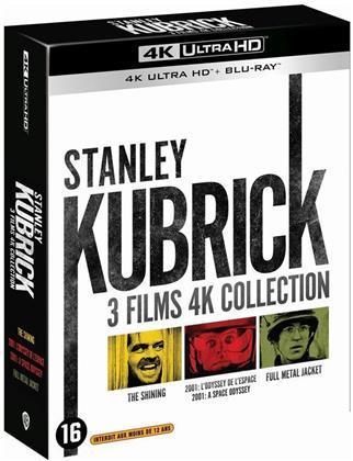 Stanley Kubrick - 3 Films 4K Collection - Shining / 2001: L'odyssée de l'espace / Full Metal Jacket (3 4K Ultra HDs + 3 Blu-rays)