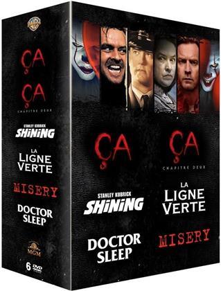 Ça (2017) / Ça - Chapitre 2 (2019) / Shining (1980) / La ligne verte (1999) / Doctor Sleep (2019) / Misery (1990) - Coffret Stephen King (6 DVDs)