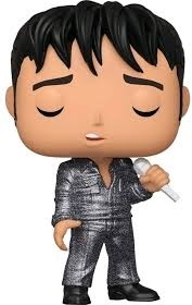Funko Pop! Rocks: - Elvis - '68 Comeback Special * (Latam Exlusive Version)