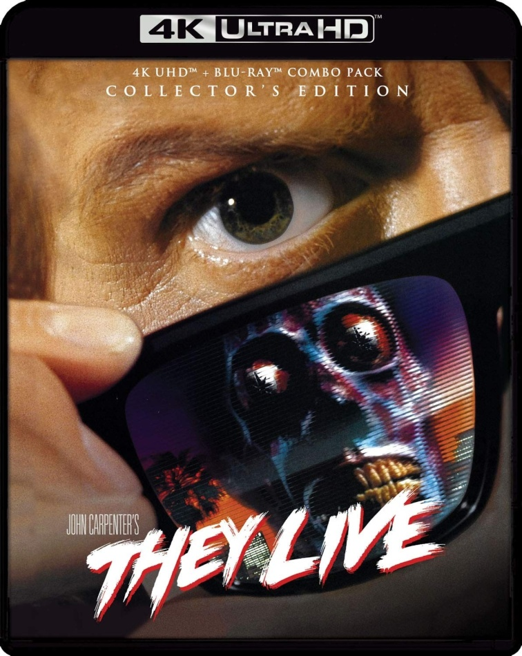 They Live (1988) (Collector's Edition, 4K Ultra HD + Blu-ray)