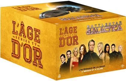 Battlestar Galactica - L'intégrale de la saga - 4 séries et 4 films (L'âge d'or séries TV, 43 DVDs)