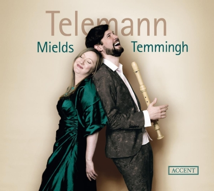 Georg Philipp Telemann (1681-1767), Dorothee Mields & Stefan Temmingh - Cantatas For Soprano & Recorder And Instrumental Works