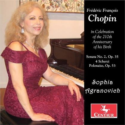Frédéric Chopin (1810-1849) & Sophia Agranovich - Sonata 2 Op 35, 4 Scherzi, Polonaie Op. 53