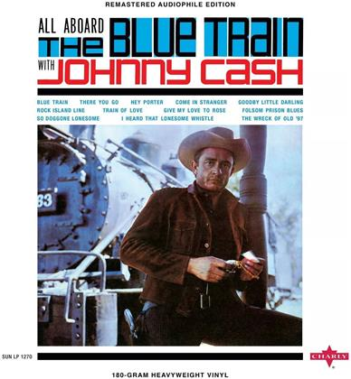 Johnny Cash - All Aboard The Blue Train (2020 Reissue, Charly, LP)