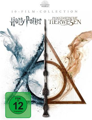 Harry Potter / Phantastische Tierwesen - Wizarding World - 10-Film Collection (10 Blu-rays)