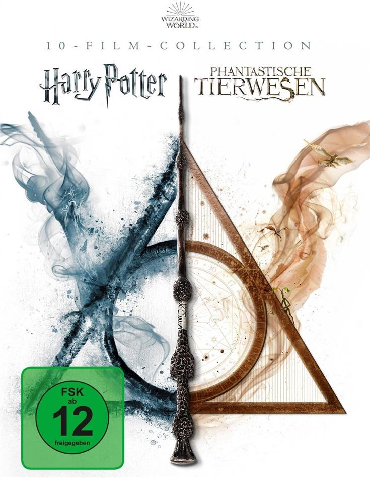 Harry Potter / Phantastische Tierwesen - Wizarding World - 10-Film Collection (10 Blu-rays)
