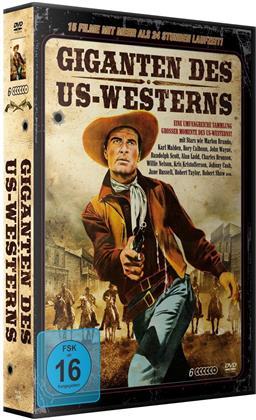Giganten des US-Westerns - 15 Filme (6 DVDs)