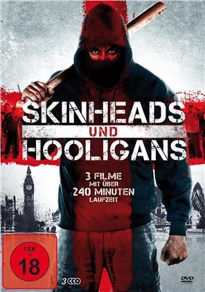Skinheads und Hooligans - Skinhead - Die Rache ist unser / Dangerous Mind of a Hooligan / Riot - Hooligan first, Cop second (3 DVDs)