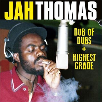 Jah Thomas - Dub Of Dubs + Highest Grade (2 CDs)