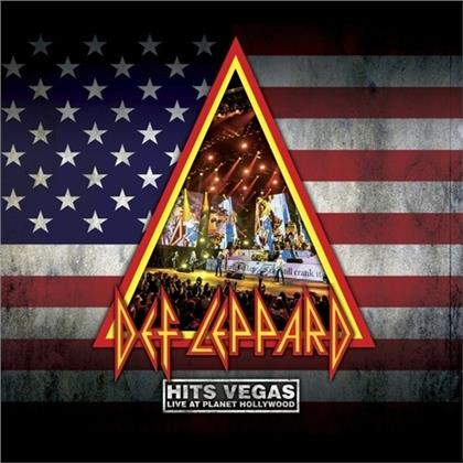Def Leppard - Hits Vegas - Live At Planet Hollywood (Limited Digipack, 2 CDs)