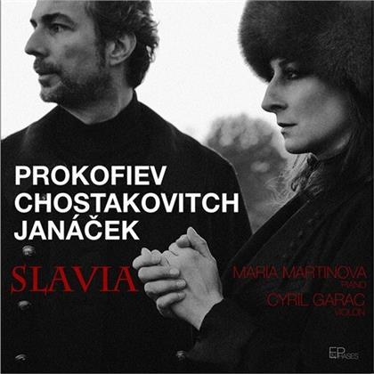 Leos Janácek (1854-1928), Cyril Garac & Maria Martinova - Slavia