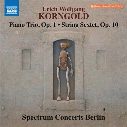 Spectrum Concerts Berlin & Erich Wolfgang Korngold (1897-1957) - Piano Trio Op. 1, String Sextet Op. 10