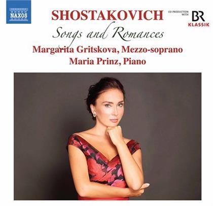 Dimitri Schostakowitsch (1906-1975), Margarita Gritskova & Maria Prinz - Songs & Romances