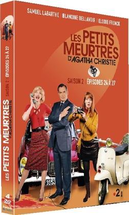 Les petits meurtres d'Agatha Christie - Saison 2 - Épisodes 24-27 (4 DVDs)